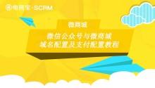 微信公众号(服务号)与电商宝SCRM微商城域名配置及支付配置教程!