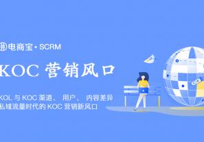 KOL与KOC渠道、用户、内容差异,私域流量时代的KOC营销新风口!