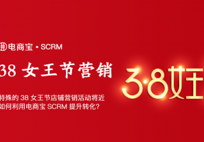 电商38女王节店铺营销活动将近,如何利用电商宝SCRM提升转化?