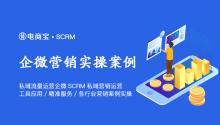 私域流量运营之企业微信SCRM私域营销运营:工具应用&精准服务&各行业营销案例实操!