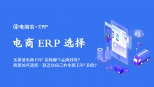 多渠道电商ERP系统哪个品牌好用?商家如何选择一款适合自己的电商ERP系统?