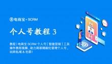 教程|电商宝SCRM个人号【智能营销/回复】工具操作教程视频,助力商家精细化管理个人号,玩转私域&社群!