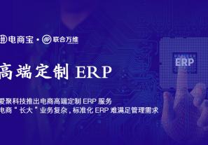 """爱聚科技推出电商高端定制ERP:电商""""长大""""业务复杂,标准化ERP难满足管理需求!"""