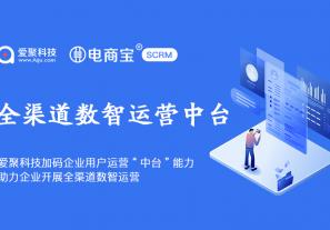 """爱聚科技CEO马国良:加码企业""""用户运营中台""""能力,助力企业开展全渠道数智运营!"""
