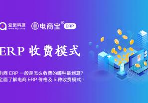 电商ERP一般是怎么收费的哪种最划算?全面了解电商ERP价格及5种收费模式!