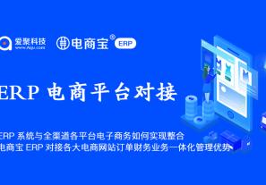 ERP系统与全渠道各平台电子商务如何实现整合? 电商宝ERP对于各大电子商务网站订单财务业务一体化管理优势