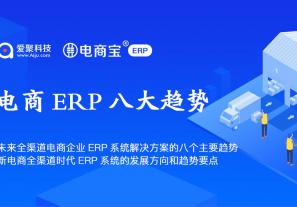 未来全渠道电商企业ERP系统解决方案的八个主要趋势,新电商全渠道时代ERP系统的发展方向和趋势要点!