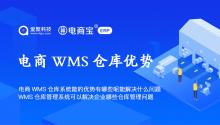 电商WMS仓库系统能的优势有哪些呢能解决什么问题?wms仓库管理系统可以解决企业哪些仓库管理问题?