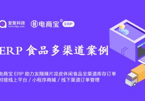案例分享 | 电商宝ERP助力友翔辣片凉皮休闲食品全渠道库存订单,对接线上平台、小程序商城、线下渠道订单管理!